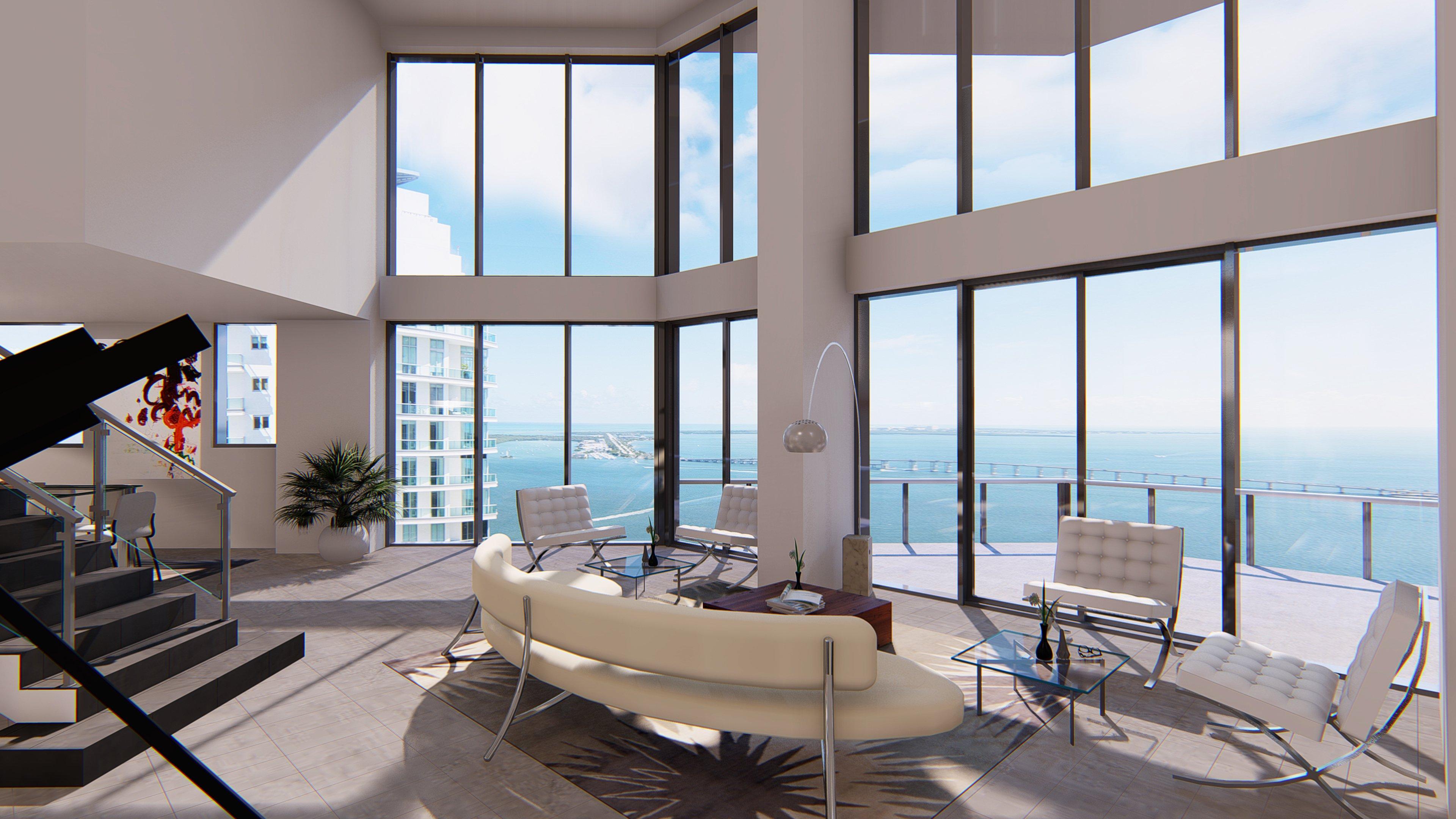 Brickell House Ph 4401. Miami