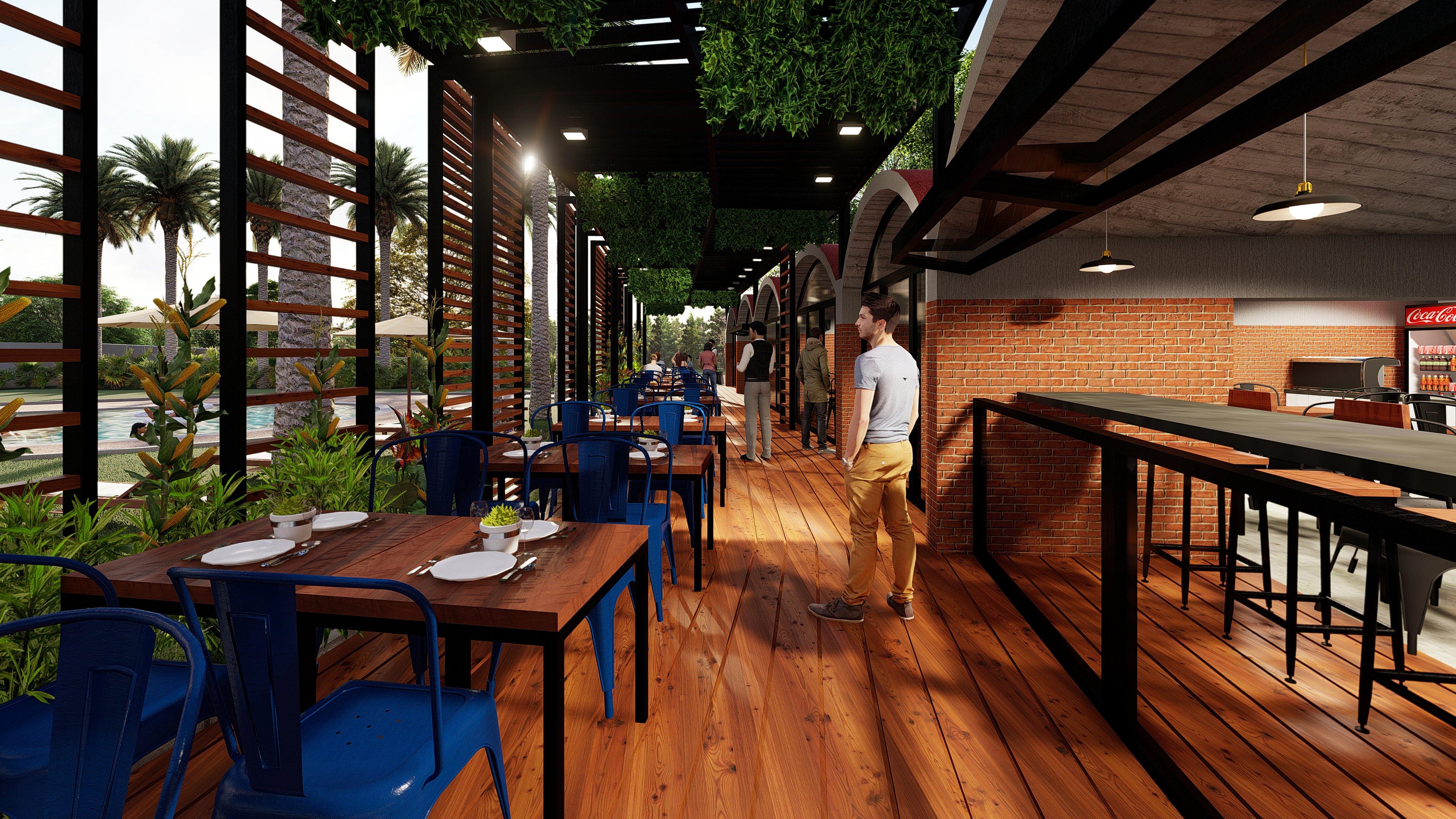 Cadena de Restaurantes, Hotel Jirahara. Barquisimeto, Venezuela