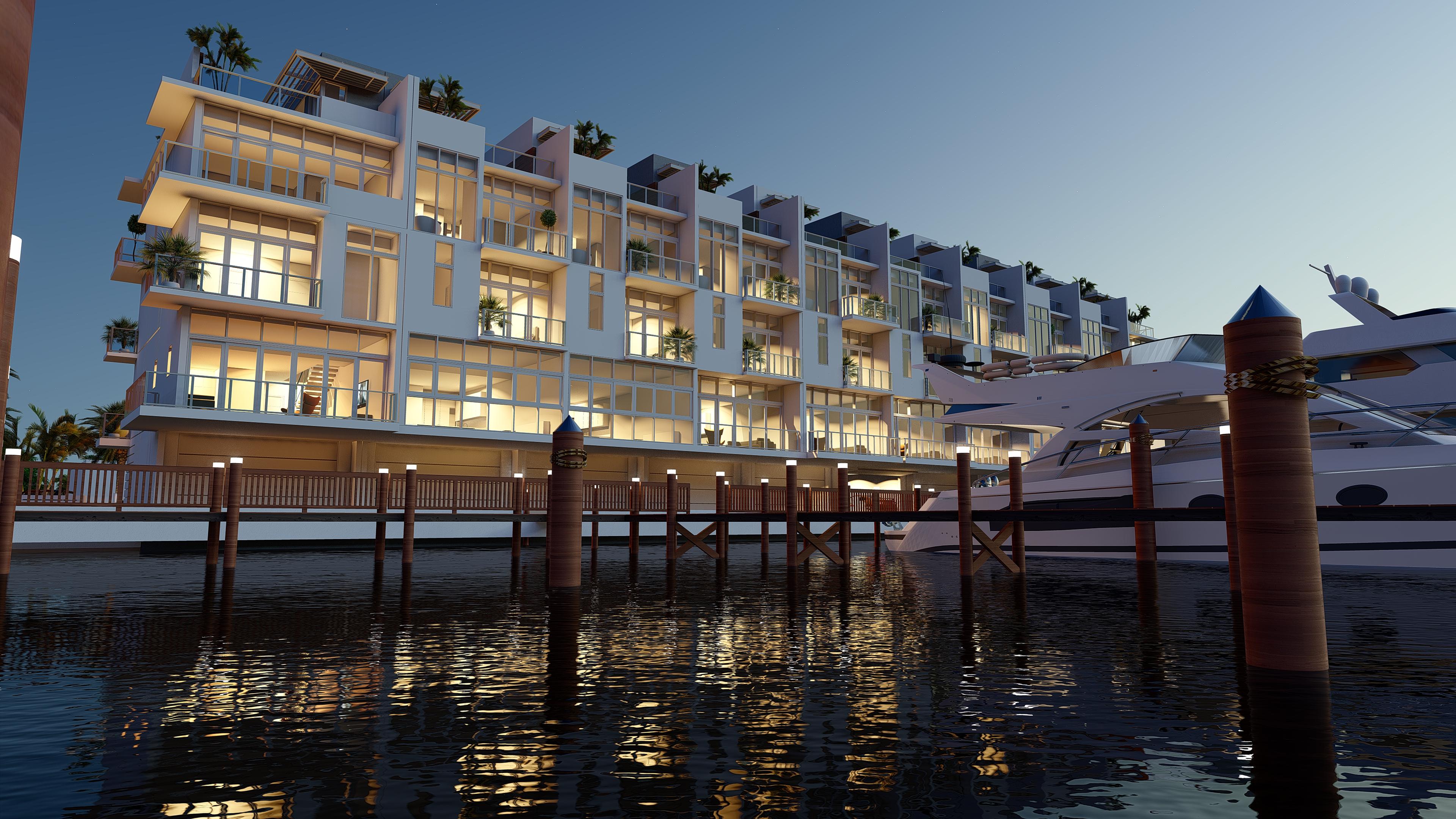 Edificio Residencial de Lujo Quint Collection Hollywood. Florida, E.E.U.U - Perspectiva 2
